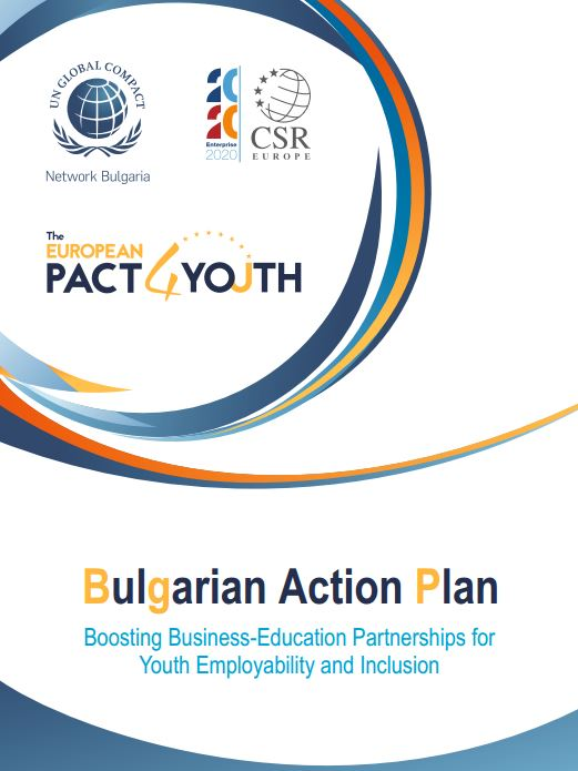 National Action plan of Bulgaria for the European Pact4Youth | UNGC Network  Bulgaria