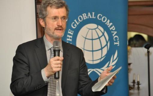 Георг Кел - изпълнителен директор на Глобалния договор на ООН, Ню Йорк