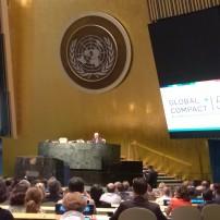 15 години Глобален договор на ООН. Световни чествания